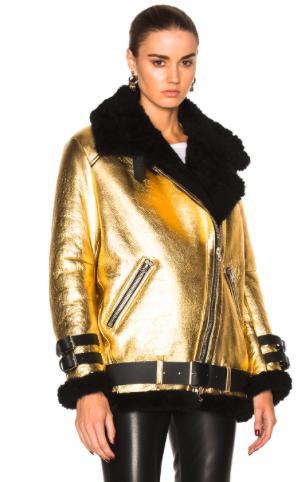 Acne Studios 'Velocite' Shearling Jacket