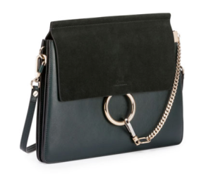 Chloe Faye Medium Flap Suede